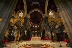 St. Patrick's Cathedral (我的臉書粉絲 : LIU Photography 傳傳) Tags: travel church st canon landscape photography catholic cathedral sydney australian australia melbourne brisbane chamber patricks hdr 1635l 1dx