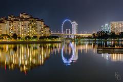 Kallang River, Singapore (ksagphotos) Tags: river reflection singapore night city urban cityscape longexposure hdr light landscape architecture asia southeastasia