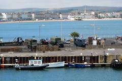 IMG_7266 - Dunkirk Film Set - Weymouth - 28.07.16 (Colin D Lee) Tags: christophernolan movie dunkirk worldwar2 film set weymouth quay crew warnerbros trucks army