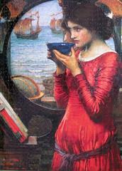 Destiny (1900) (pefkosmad) Tags: art painting artist hobby puzzle destiny painter romantic leisure jigsaw preraphaelite pastime johnwilliamwaterhouse