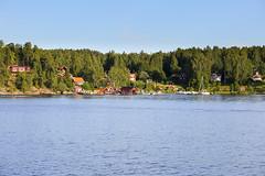 Laggarsvik p Ljuster (Anders Sellin) Tags: bt hav skrgrd sverige sweden vatten archipelago baltic boat sea sj stockholm water stersjn svartlga