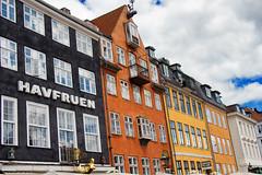 Nyhavn (Chemical Dave) Tags: colour building yellow copenhagen denmark nyhavn bright harbour ochre havfruen colourfulbuildings