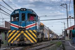 Heredia, INCOFER, 86 (FritzF2010) Tags: tren ferrocarril heredia incoferheredia