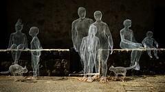 we're an happy family (akabolla) Tags: sculture valdorcia montichiello danielacapoccioli