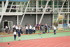 DSC_7836 (Adrian Royle) Tags: people field sport athletics jump jumping nikon track action stadium running run runners athletes sprint leap throw loughborough throwing loughboroughuniversity loughboroughsport