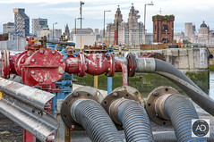 9.15 sharp (alun.disley@ntlworld.com) Tags: weather architecture liverpool docks buildings shipping industriallandscape wallasey wirral merseyside rivermersey portsandharbours liverpoolwaterfront princealfreddock