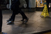 Instruction #11-702-3 (Doowopski) Tags: doowopski street streetrepeat106 feet catch step catchfeetinstep streetphotography caution cautionsign instep throughawindow shoes legs