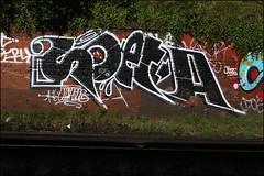 Soeta (Alex Ellison) Tags: soeta yrp southlondon trackside railway urban graffiti graff boobs