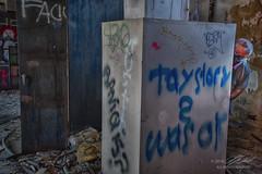 My Urbex Fella (Linda O'Donnell) Tags: abandonedplacesinamerica newjersey urbex hdr exposurebracketing nikond750 exploreusa testingfacility graffiti
