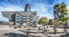 glories arquitectura (teresa.calb) Tags: barcelona testimembcn barcelonabelleza  estimembcn gloriesbcn museudisseny torreagbar