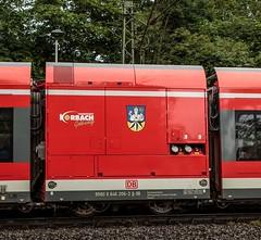 0517_2016_07_02_Baunatal_Rengershausen_DB_Kurhessenbahn_646_206_Korbach_R39_Bad_Wildungen (ruhrpott.sprinter) Tags: ruhrpott sprinter geutschland germany nrw ruhrgebiet gelsenkirchen lokomotive locomotives eisenbahn railroad zug train rail reisezug passenger gter cargo freight fret diesel ellok hessen baunatal rengershausen korbach stellwerk db kurhessenbahn boxx can eloc elv hlbahn heb hgb mrcedispolok txl rpool sbbc 101 114 120 145 146 152 182 185 193 211 275 427 428 429 482 642 646 es64u2 rapunzel rotkppchen dermond hansimglck dompfaff kfer schmetterling blumen outdoor logo graffiti natur
