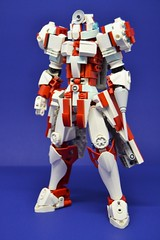Medic_05 (Shadowgear6335) Tags: red white robot lego system technic medic bionicle moc shadowgear shadowgear6335
