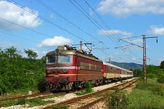 Demoted (Krali Mirko) Tags: bdz train electric locomotive skoda 68e3 44082 bulgaria railway