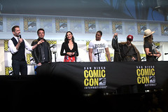 Zack Snyder, Ben Affleck, Gal Gadot, Ray Fisher, Ezra Miller & Jason Momoa (Gage Skidmore) Tags: zack snyder ben affleck henry cavill gal gadot ray fisher ezra miller jason momoa justice league film san diego comic con international california convention center