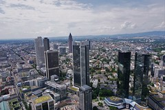 Frankfurt_Ausblick Maintower 2016 (1) (mheckerle) Tags: frankfurt stadt city 2016 architektur architecture view maintower panorama