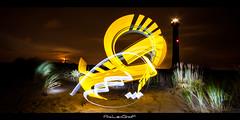 Phare de Coubre (Aty Lightgraff) Tags: lightpainting light atylightgraff lightgraff lumire graff cra photo poselongue canon sigma