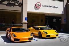 Orange and Yellow (Noah L. Photography) Tags: lamborghini murcielago gallardo orange yellow car sportscar italian walnut hingwalee