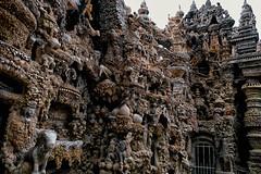 Seule Au Monde (Don Csar) Tags: france francia frankreich europe europa construction construccion details stones piedras turismo naveart hauterives idealpalace