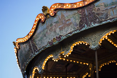 Wonder carrousel 2 (Iversaur) Tags: tibidabo barcelona carrousel ride amusement park lights