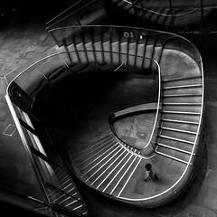 Emerging (TS446Photo) Tags: noiretblanc nikon nikkor stairs spiral city street urban london architecture