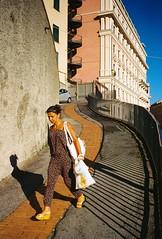 Pr, Genova (Etumies) Tags: leicaphotography leopardskin streetphotography filmphotography analogousphotography film lowsun shadows ligure liguria leopardpattern evening italy italia genoa genova