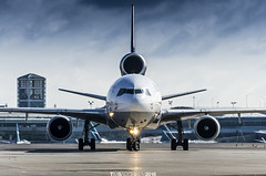 Lufthansa MD-11F D-ALCF (TimSadchikov) Tags: lufthansa lufthansacargo md11 md11f mcdonnelldouglas mcdonneldouglas trijet threeholer triholer cargo freighter yyz cyyz torontopearsonaviation torontopearsoninternationalairport toronto aviation airport pearson