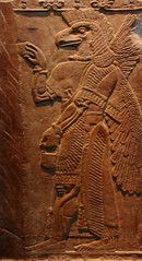 009Eagle Headed Winged_Assyria (queulat00) Tags: assyrian asiria eagle stone britishmuseum london museum anciente