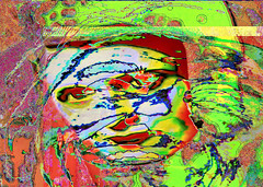 Portrait of Ayn Rand and Edie Sedgwick (Rob Goldstein -Thanks for your support) Tags: abstract aynrand mitt romney color colorgrading california contrast colorful bright edie sedgwick photoshop photoprocessing photomorphing awesome best blogging beautiful bobbyormega artbyrobgoldstein foto morphing