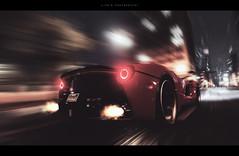 Apollo 20 (lifegphotos) Tags: thecrew ferrari laferrari automotive cars car carphotography photoshop nighttime nightlife speed fast racing supercar sportscar hypercar ps4 dallas