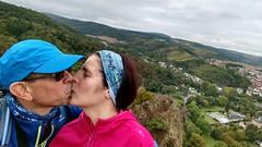 Selfie auf der Burgruine Rheingrafenstein