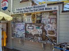 Route 66 Last Stop Shop (Anthony's Olympus Adventures) Tags: santamonica santamonicapier santamonicabeach santamonicaca ca california usa losangeles pier jetty route66 route66laststopshop travel olympusem10 motherroad robertwaldmire laststopshop