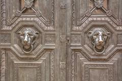 Guardians (stevefge) Tags: uk london highgate cemetary crypt doors lion graveyard reflectyourworld
