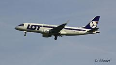 EmbraerERJ170 ~ SP-LIA  LOT (Aero.passion DBC-1) Tags: dbc1 david biscove aeropassion spotting aviation avion plane aircraft roissy cdg embraer erj170 ~ splia lot