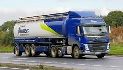 VOLVO FM - forFarmers Wherstead (scotrailm 63A) Tags: lorries trucks tankers