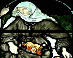 [45663] St Editha, Tamworth : Marmion Windows (Budby) Tags: tamworth staffordshire church window stainedglass preraphaelite