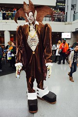 DSC_0562 (Randsom) Tags: nycc 2016 newyorkcomiccon nycomiccon javitscenter october nyc newyorkcity cosplay costume fun comicbooks comicconvention halloween spooky monster ghoul countchocula vampire stilts