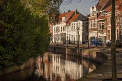 Canal (Matt H. Imaging) Tags: ©matthimaging amersfoort street reflection sony slt sonyalpha slta55v a55 nederland netherlands sal1855 kitlens