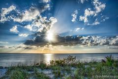 Break Through (DonMiller_ToGo) Tags: beachlife cloudporn sunsetmadness sunsets nature birds goldenhour rocks hdr hdrphotography caspersenbeach 3xp clouds beaches onawalk florida outdoors sunsetsniper seascapes d810 beachphotography sky
