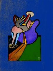 au milieu de nulle part 2004, le bleu de la nuit (patricio villarroel brquez) Tags: pvb patricio villarroel borquez ipadpro applepencil mixedmedia