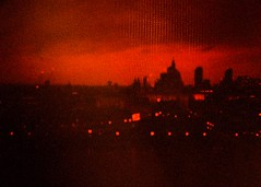 Rollei Redbird - Book 3 - Red sky during the day, hell to pay () Tags: blood red stpauls cathedral 2016 redscale rollei redbird film analogue olympus trip olympustrip35 trip35 london