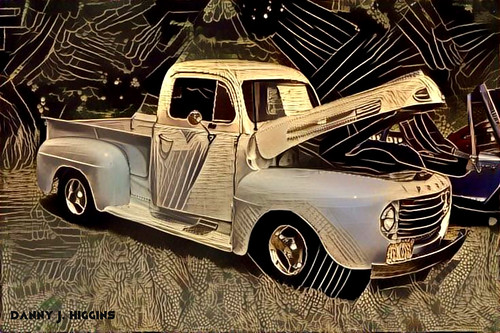 Car & Motorcycle Show & Swap Meet At The Psycho Silo Saloon In Langley, Illinois
