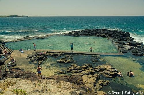 Celibrating Ocean Baths at Kiama