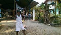 Seifenblasen in Behinderteneinrichtung in Ittapana, Sri Lanka 7