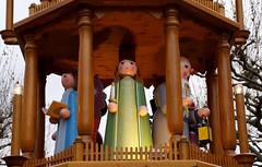 Mainz, Weihnachtsmarkt 2014, Weihnachtspyramide (Christmas Market, Christmas pyramid) (HEN-Magonza) Tags: mainz weihnachtsmarkt christmasmarket rheinlandpfalz rhinelandpalatinate deutschland germany marchédenoël mercatonatalizio weihnachtspyramide christmas pyramid