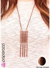 5th Avenue Copper Necklace K1 P2445-4
