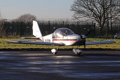 G-CCEM (QSY on-route) Tags: church fly fenton revival in gccem egxg 04012015