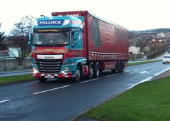 E1 PSL (Cammies Transport Photography) Tags: road truck lorry kings pollock ltd e1 daf psl rosyth xf scotrans e1psl