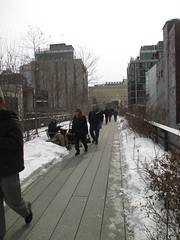 High Line Snow Covered Railroad Overpass Tracks to Nowhere 8369 (Brechtbug) Tags: road park street new york city nyc railroad winter urban snow streets west art architecture garden way design march high downtown gallery path walk manhattan district balcony packing side nowhere tracks overpass rail pedestrian mini el meat line midtown covered mezzanine transportation boardwalk former elevated blizzard derelict reclamation highline skyway redesign the remodeled 2015 03072015