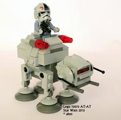 Star Wars Lego 75075 AT-AT (KatanaZ) Tags: starwars lego minifigs atat atatdriver minifigures microfighters lego75075
