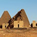 Meroe Royal Cemetery - the southern group
